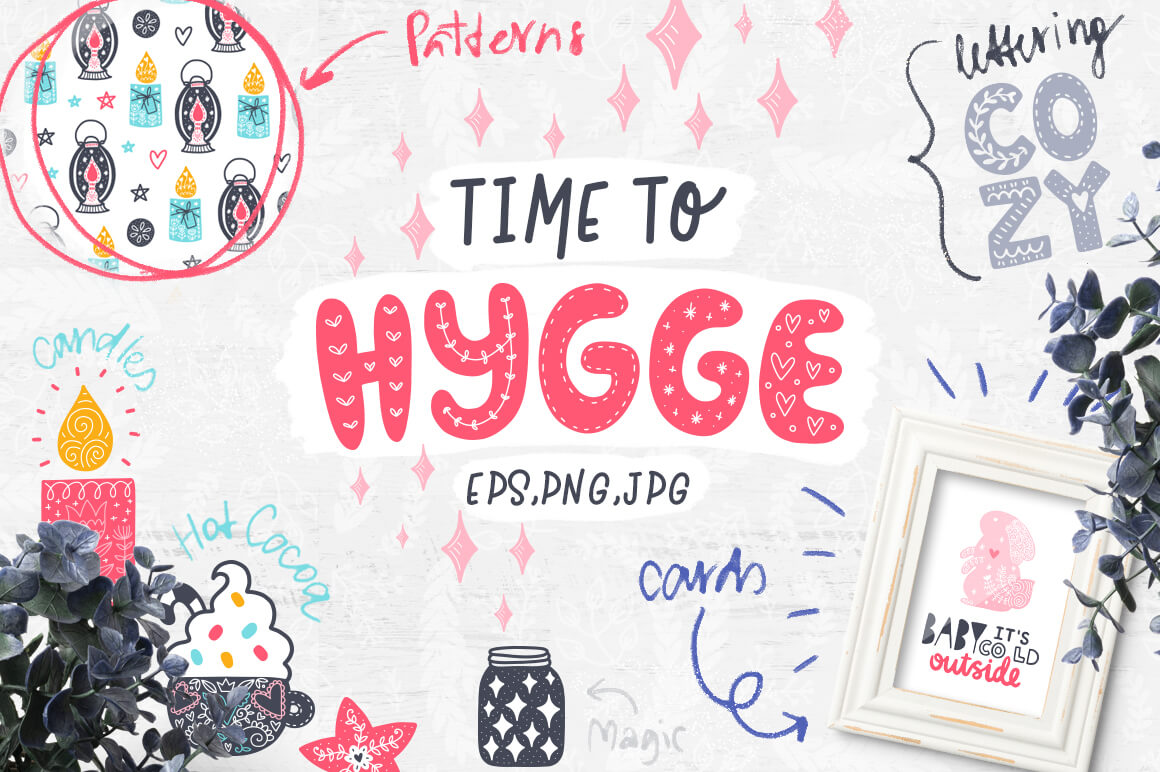 Time to Hygge - Clipart Collection! 1