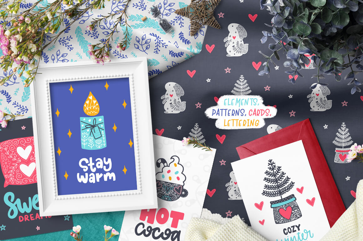 Time to Hygge - Clipart Collection! 7