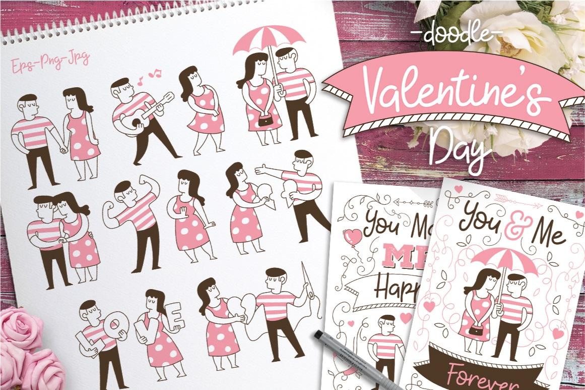 Valentine's Doodle - The Spring Romance Bundle