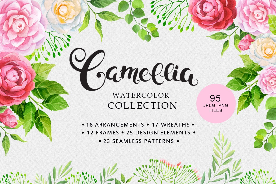 Camellia - The Spring Romance Bundle