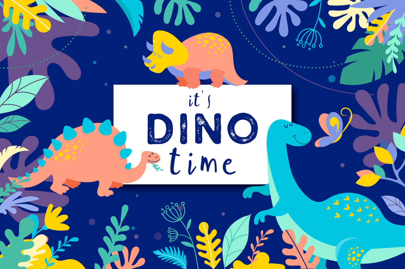 it's DINO time 1