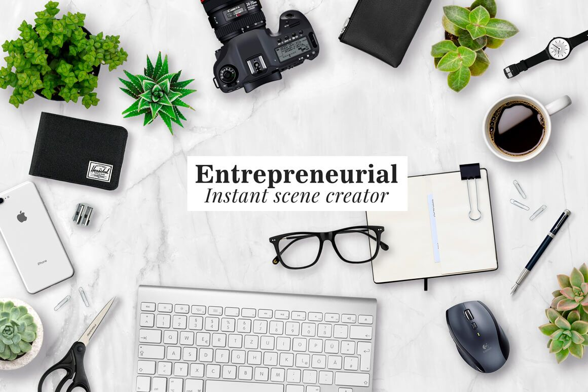 The Entrepreneurial Scene Creator Kit - The Everyday Designer Bundle Vol. 03
