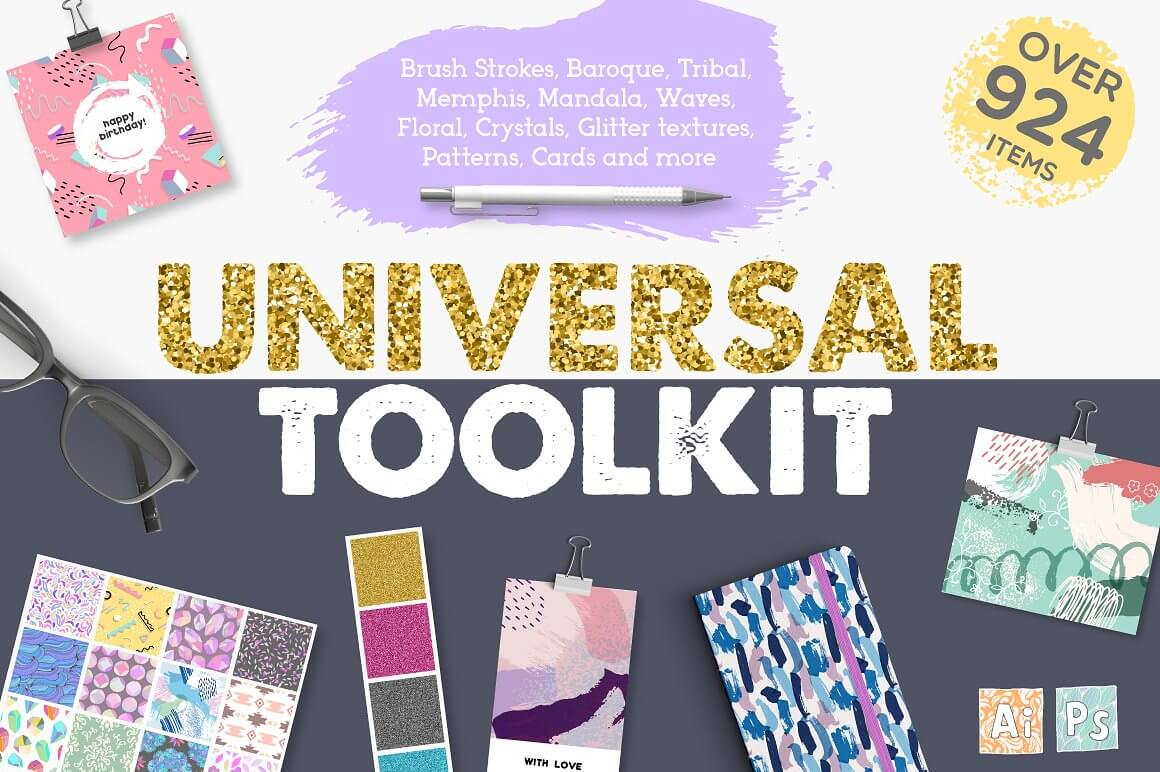 Universal Toolkit - The Everyday Designer Bundle Vol. 03