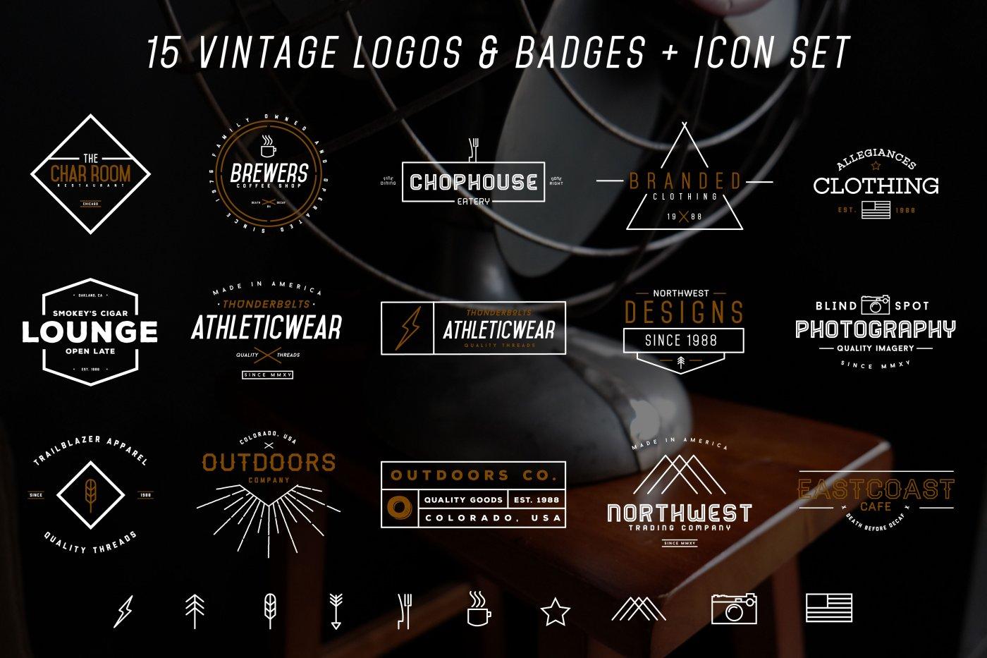 Vitage logos