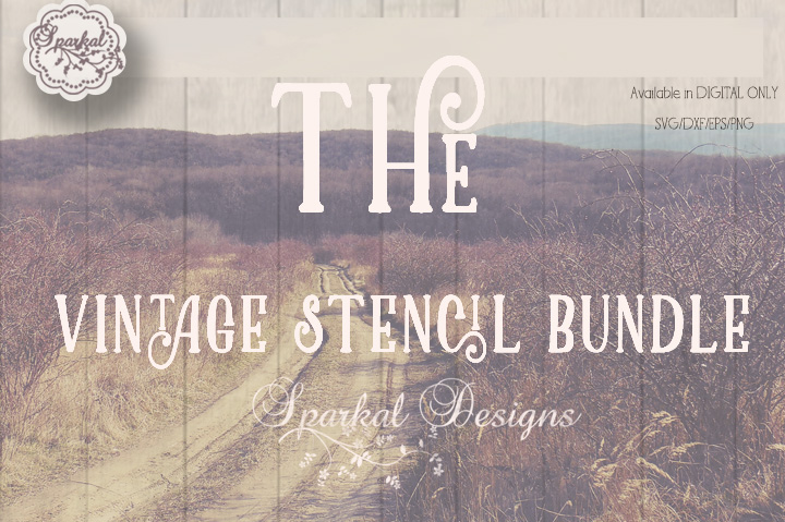 The Vintage Stencil Bundle
