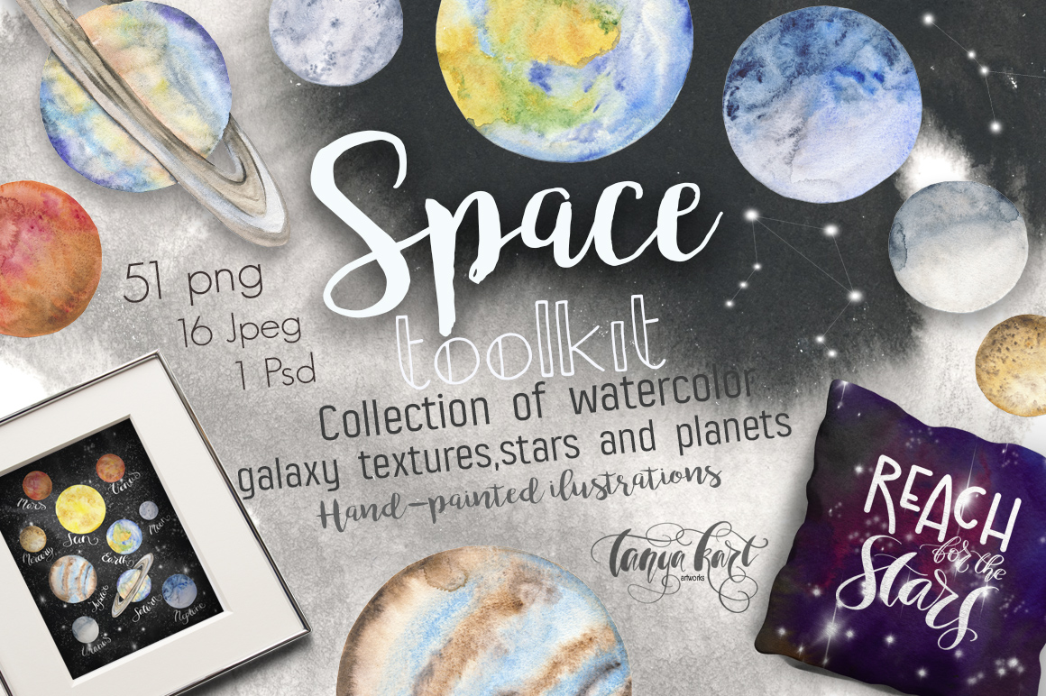 tanya kart space toolkit watercolor
