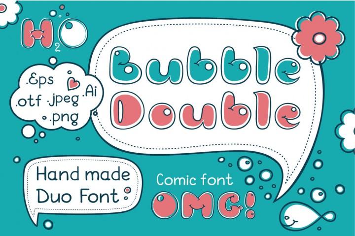 bubble double header