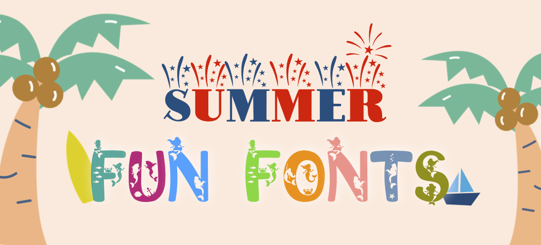 summer fun fonts