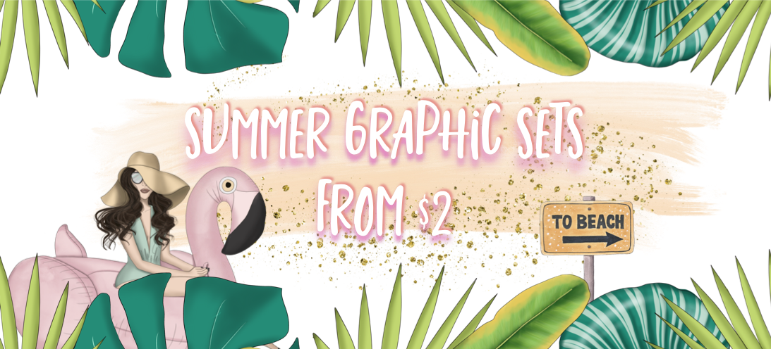 summer graphics header